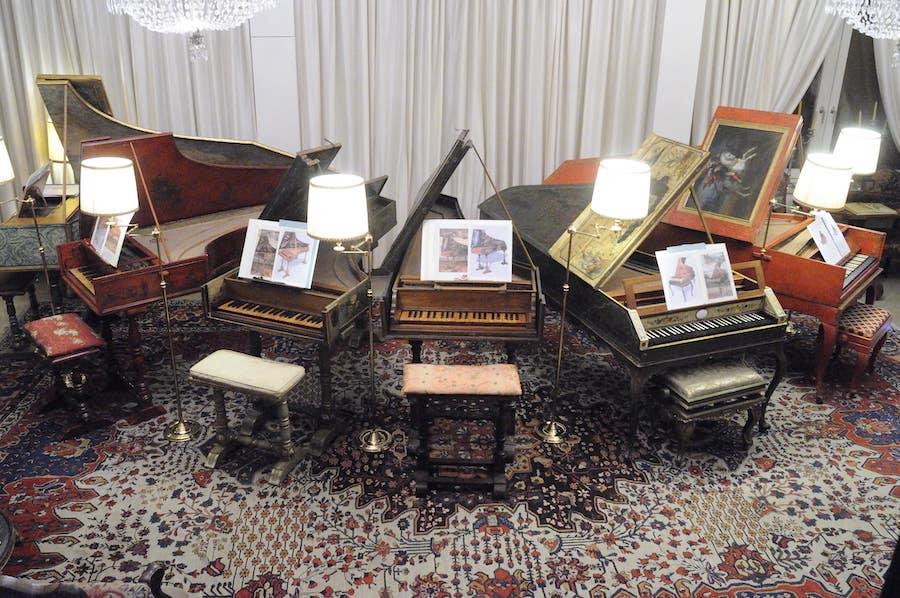 harpsichord in casa Giulini Milan