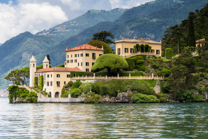 Bellagio and Como lake