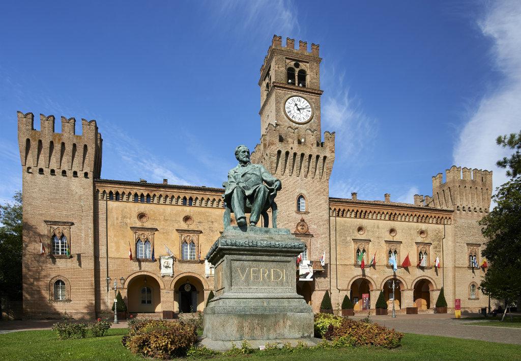 Busseto and Verdi's places