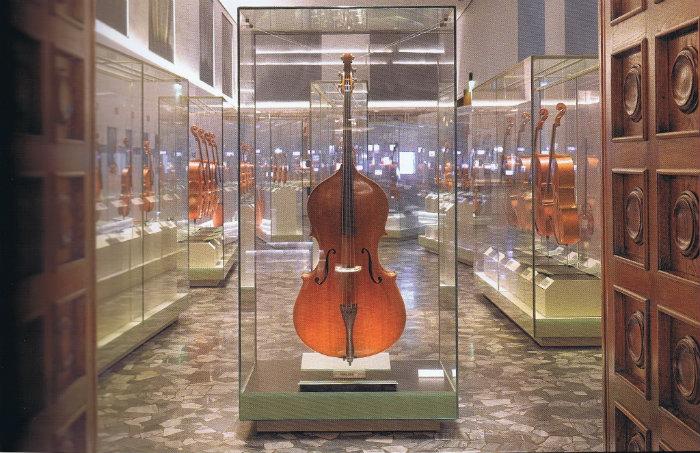 The treasure box, Violin Museum, Cremona